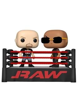 POP Moment WWE The Rock vs Stone Cold in Wrestling Ring