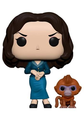 POP and Buddy His Dark Materials Mrs Coulter with Daemon