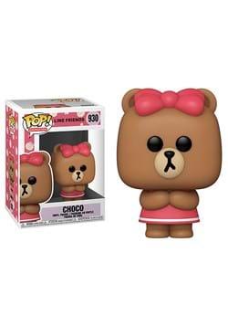 POP Animation Line Friends Choco Figure