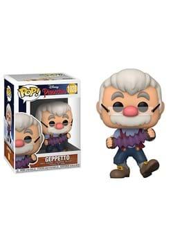 POP Disney Pinocchio Geppetto with Accordion Figure