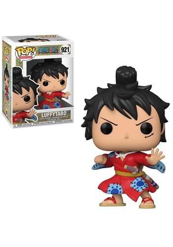 POP Animation One Piece Luffy in Kimono