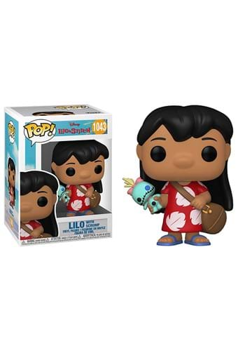 Funko POP Disney Lilo Stitch Lilo w Scrump-1