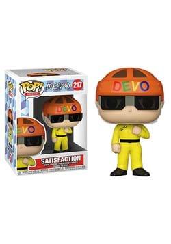 Funko POP Rocks Devo Satisfaction Yellow Suit-1