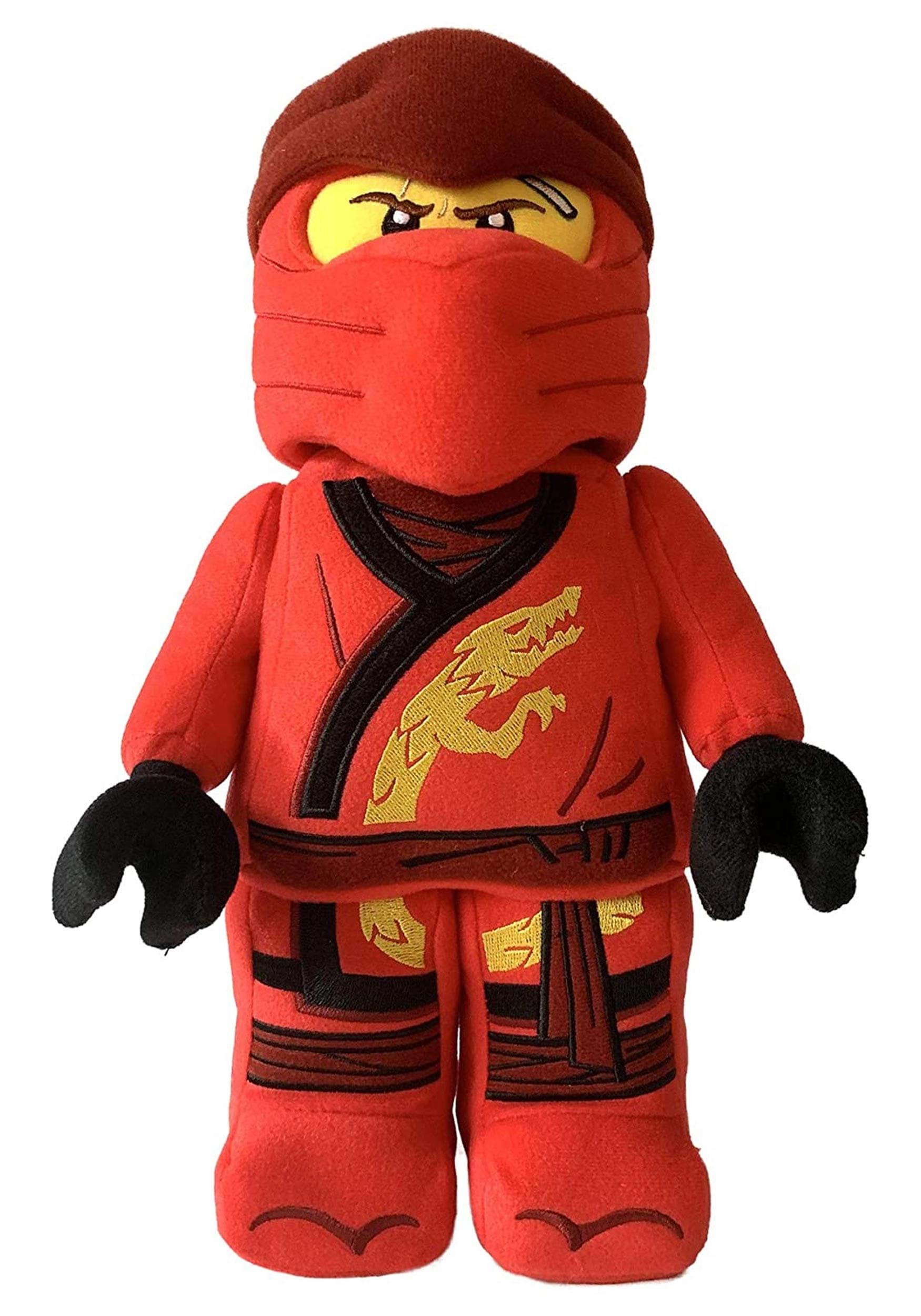 Stuffed Ninjago LEGO Kai Figure