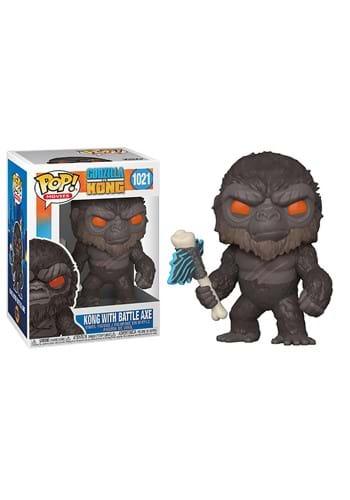 POP Movies Godzilla Vs Kong Kong with Battle Axe-1
