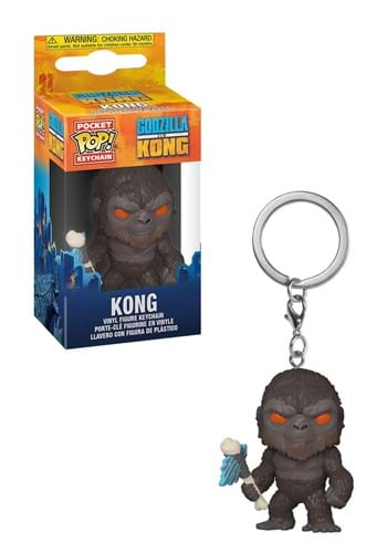 POP Keychain Godzilla Vs Kong Kong with Battle A