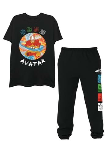 Mens Avatar Tee and Jogger Set