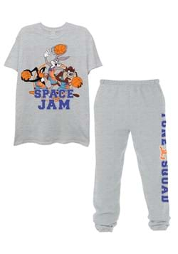 Mens Space Jam Tee and Jogger Set