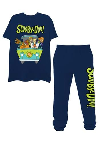 Mens Scooby Doo Tee and Jogger Set