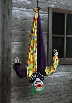 2.8 Ft Animated Hanging Clown