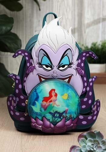 Loungefly Disney Villains Ursula Crystal Ball Mini Backpack-