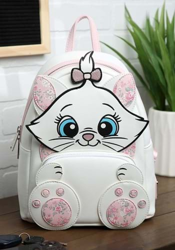 Loungefly Disney Marie Floral Footsy Mini Backpack-1