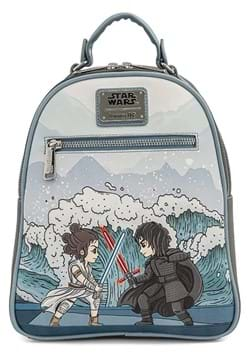 Loungefly Star Wars Kylo Rey Mixed Emotions Mini Backpack