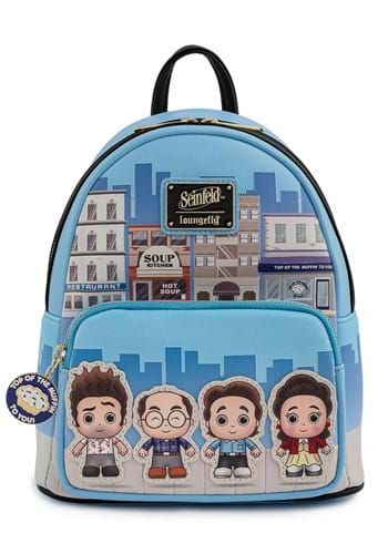 Adult Loungefly Seinfeld Chibi City Mini Backpack