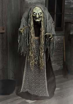 5ft Hag the Witch Animatronic Decoration