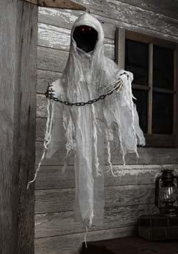 3ft Hanging Faceless Ghost Animatronic Decoration