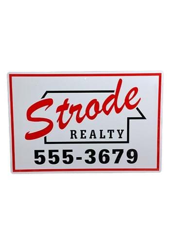 Halloween Strode Realty Metal Sign