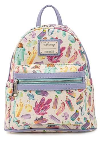 Loungefly Disney Crystal Sidekicks AOP Mini Backpa