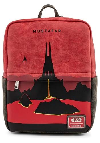 Loungefly Star Wars Lands Mustafar Square Mini Bac