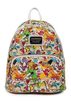 Loungefly Nickelodeon Nick Rewind Gang AOP Mini Backpack