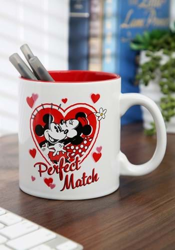 Mickey and Minnie Perfect Match 20 oz Jumbo Ceramic Mug-1-1