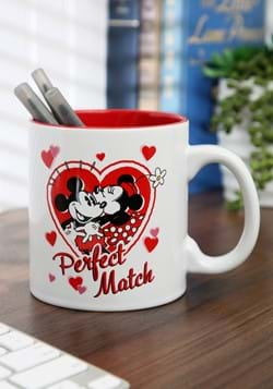 Mickey and Minnie Perfect Match 20 oz Jumbo Ceramic Mug-1