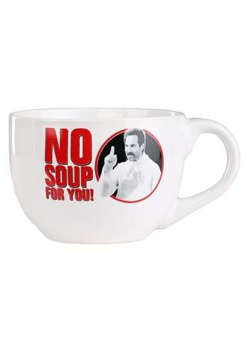 No Soup For You 24 oz Ceramic Soup Mug-Update