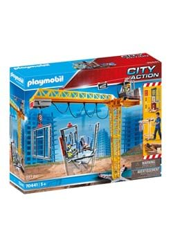 Playmobil RC Crane with Building Section