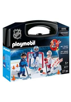 Playmobil NHL Shootout Carry Case Playset