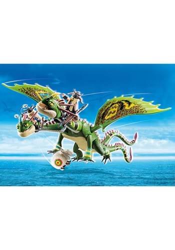 Playmobil Dragon Racing Ruffnut Tuffnut with Barf Belch
