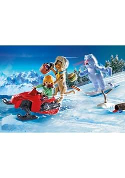 Playmobil Scooby Doo Adventure with Snow Ghost Playset