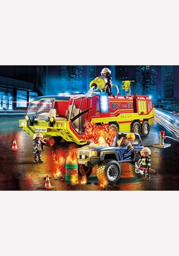Playmobil Fire Engine with Truck