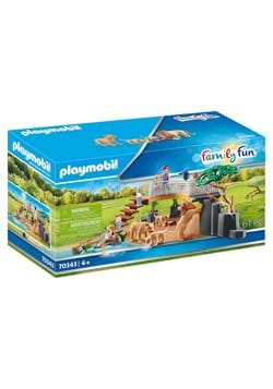 Playmobil Outdoor Lion Enclosure