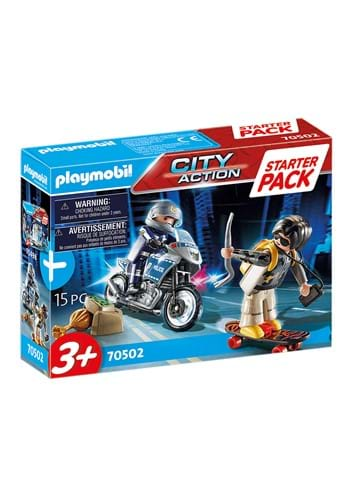 Playmobil Police Chase Starter Pack