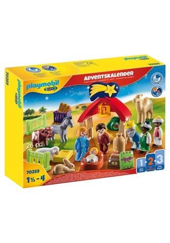 Playmobil 123 Advent Calendar Christmas Manger Playset