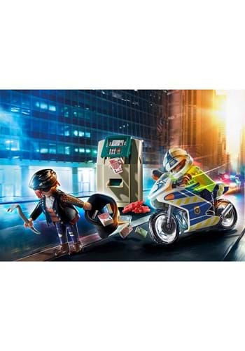 Playmobil Bank Robber Chase Playset