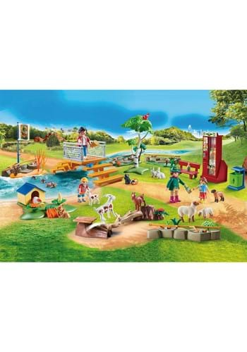 Playmobil Petting Zoo Playset