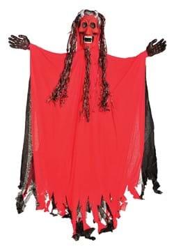 10 Ft Light Up Hanging Red Demon