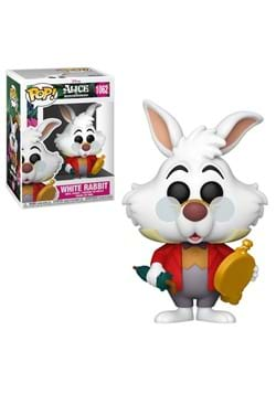 POP Disney Alice 70th Anniversary White Rabbit with Watch