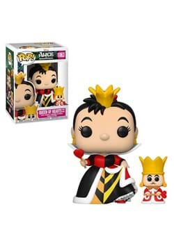 Funko POP and Buddy Disney Alice 70th Queen With King