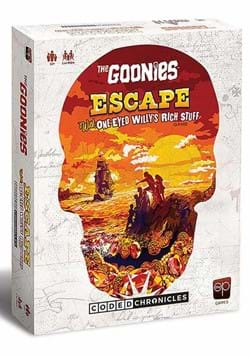 The Goonies: Escape with One-Eyed Willy's Rich Stuff Game