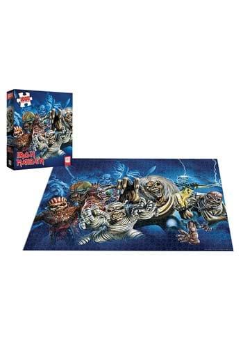 Iron Maiden Faces of Eddie 1000 Pc Puzzle
