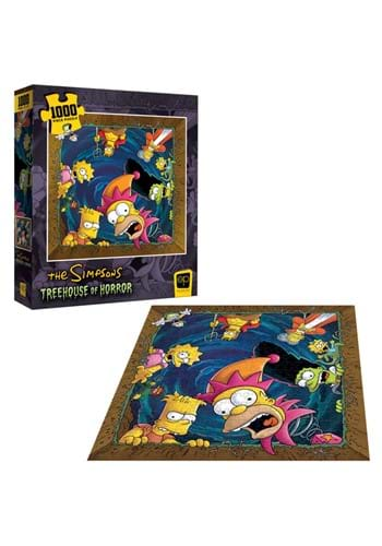 Simpsons Treehouse of Horror Coffin 1000 Piece Puzzle