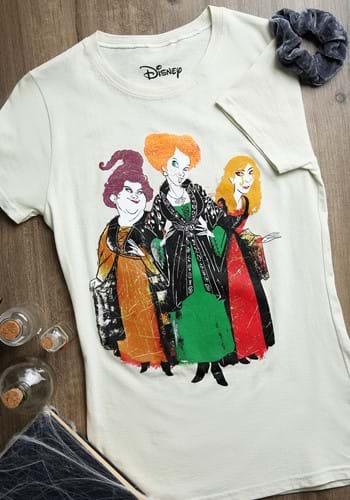 Womens Hocus Pocus 3 Sisters T Shirt