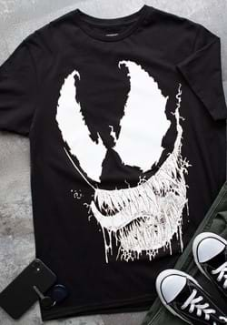 Marvel Venom Face Adult T Shirt for Men update