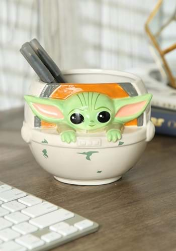 The Child Grogu Seated 3D Mug