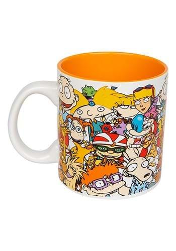 Nickelodeon Nicktoons Collage 20oz Mug