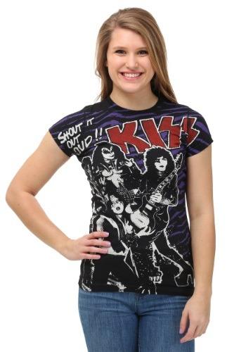 Women's KISS Shout Out Loud T-Shirt