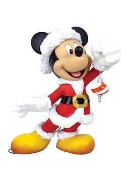 Santa Mickey Statue