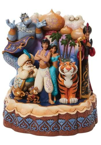 Jim Shore Carved by Heart Aladdin Diorama